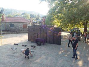 Προετοιμασία από τη θεατρική παράσταση